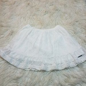 Abercrombie and Fitch Jessica lace mini skirt